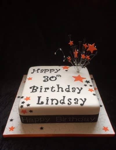 2nice2slice Ladies Birthday Cake 40