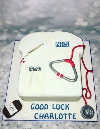 nhs cake design