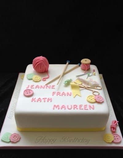 2nice2slice Ladies Birthday Cake 45