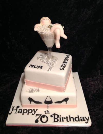 2nice2slice Ladies Birthday Cake 49