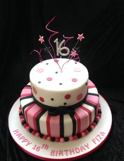 2nice2slice Ladies Birthday Cake 13