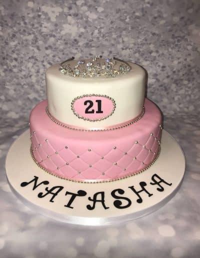 2nice2slice Ladies Birthday Cake 20