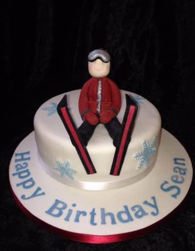 2nice2slice Mens Birthday Cake 40