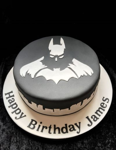 batman adult birthday cake