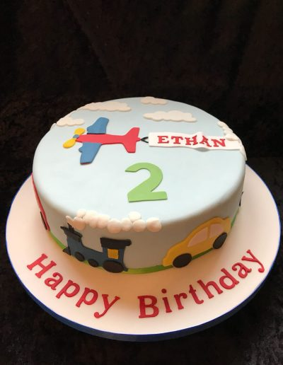 2nice2slice Childrens Birthday Cake 40