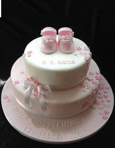 christening cake maker