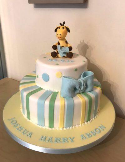 christening cakes for boy