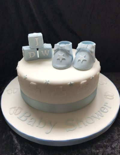 christening cakes delivered