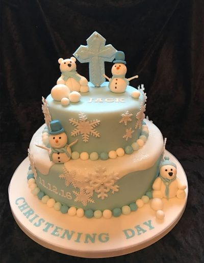 christening cakes in preston