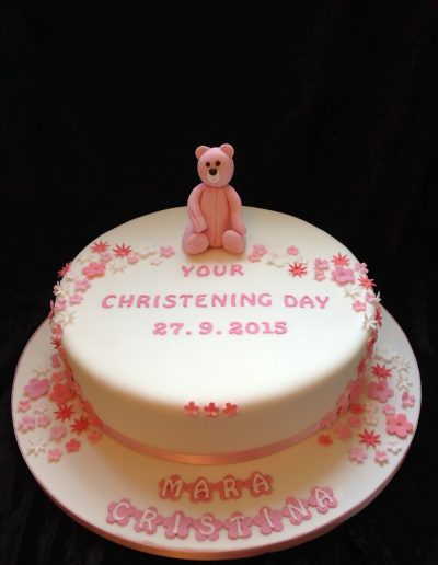 girls christening cake shops in preston