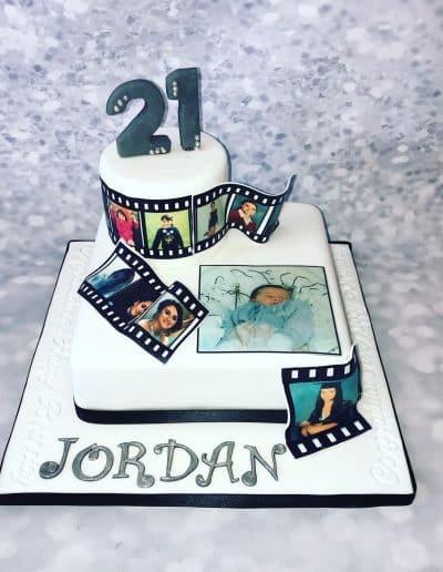 2nice2slice Ladies Birthday Cake 14