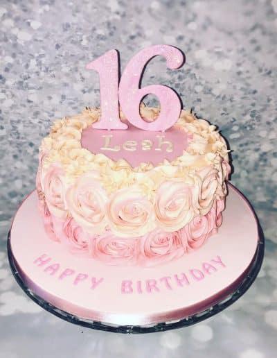 2nice2slice Ladies Birthday Cake 4