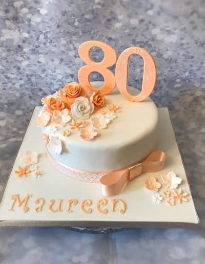 2nice2slice Ladies Birthday Cake 3