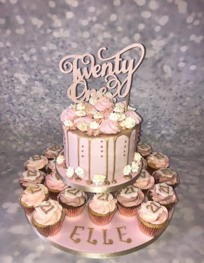 2nice2slice Ladies Birthday Cake 1