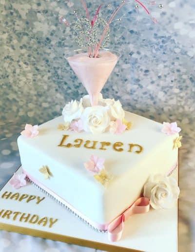 2nice2slice Ladies Birthday Cake 11