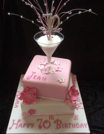 2nice2slice Ladies Birthday Cake 9