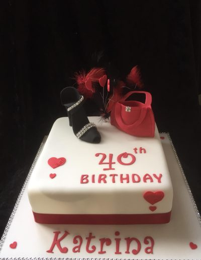2nice2slice Ladies Birthday Cake 8