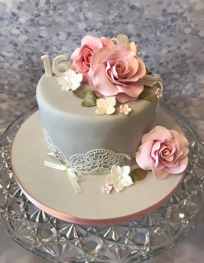 2nice2slice Ladies Birthday Cake 5