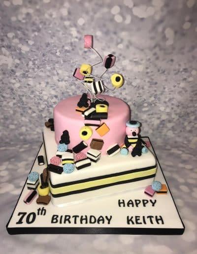 2nice2slice Mens Birthday Cake 6