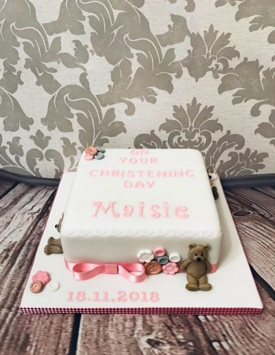 christening cake maker preston