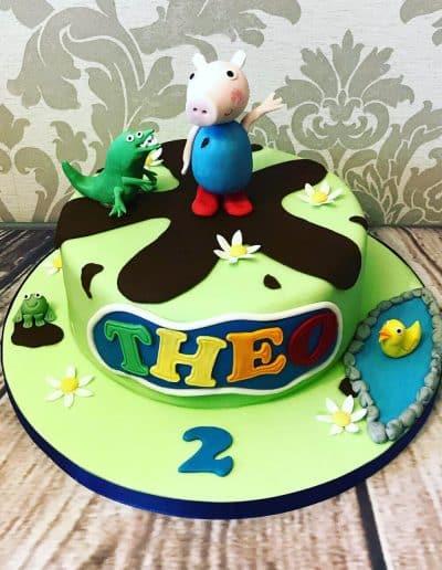 2nice2slice Childrens Birthday Cake 72