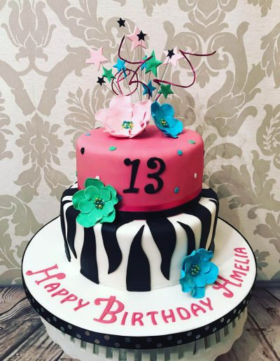 2nice2slice Childrens Birthday Cake 80